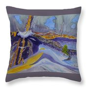 Roots Wide And Deep Throw Pillow