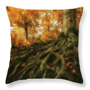 Rootz Throw Pillow