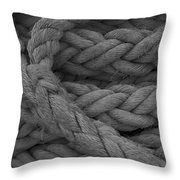 Rope I Throw Pillow