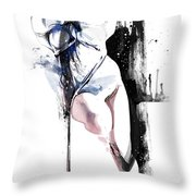 Rope Play Throw Pillow