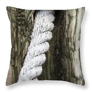 Rope Railing Throw Pillow