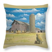 Rorabeck Barn Throw Pillow