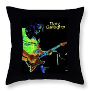 Pastel Rocker Throw Pillow