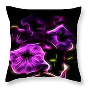 Rosa Fire Throw Pillow