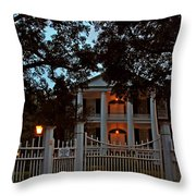 Rosalie Mansion Throw Pillow