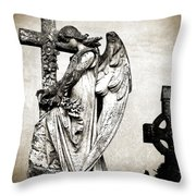 Roscommon Angel No 1 Throw Pillow