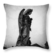 Roscommonn Angel No 4 Throw Pillow