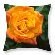 Rose - Irish Eyes Throw Pillow