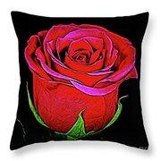 Rose 18-9 Throw Pillow