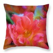 Rose 337 Throw Pillow