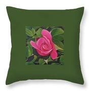Rose Arcana Throw Pillow