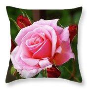 Rose Attendants Throw Pillow