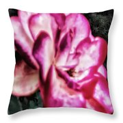 Rose By Another Name Throw Pillow