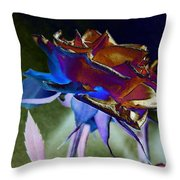 Rose By Design Throw Pillow