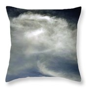 Rose Cloud Throw Pillow