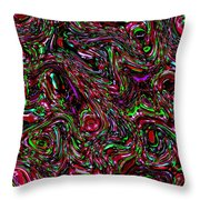 Rose Coloured Glasses Throw Pillow