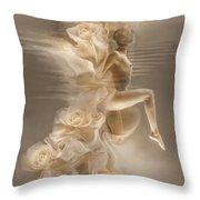 Rose Dance .vers.2 Throw Pillow