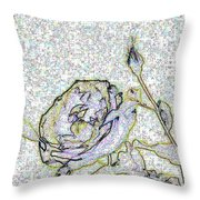 Rose For U Throw Pillow