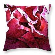 Rose Fresco Throw Pillow