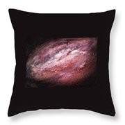Rose Galaxy Throw Pillow