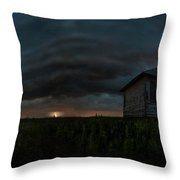 Rose Hill Storm  Throw Pillow