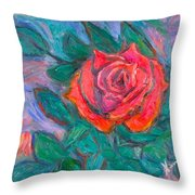Rose Hope Throw Pillow