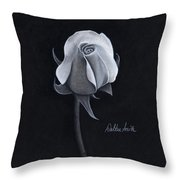 Rose I Throw Pillow