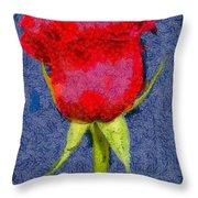 Rose - Id 16236-104956-0793 Throw Pillow