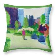 Rose Kennedy Greenway, Boston Throw Pillow