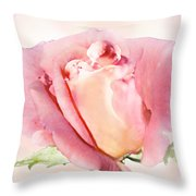 Rose Kiss Throw Pillow