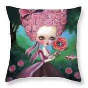 Rose Marie Antoinette Throw Pillow
