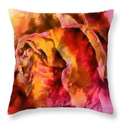 Rose Of Passion Throw Pillow