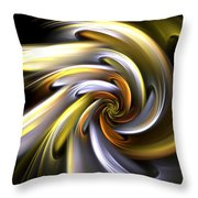 Rose Of Sunlight Throw Pillow