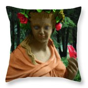 Rose Of The Garden Throw Pillow
