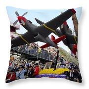 Rose Parade Throw Pillow
