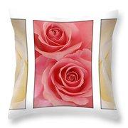 Rose Series  Throw Pillow