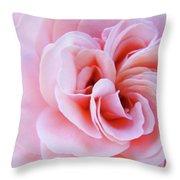 Rose Spiral Art Pink Roses Floral Baslee Troutman Throw Pillow