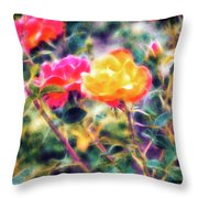 Rose Sweet Throw Pillow