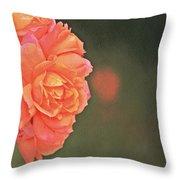 Rose Symphony Throw Pillow
