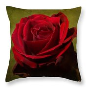 Rose Tapestry Throw Pillow