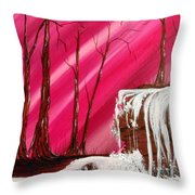 Rose Treasure Throw Pillow by Ginny Youngblood