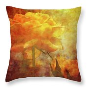 Rose With Twins 1156 Idp_3 Throw Pillow