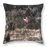 Roseate Spoonbill Select Color Throw Pillow