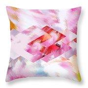 Roselique Dimension Throw Pillow