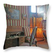 A Castle Story 01 Throw Pillow