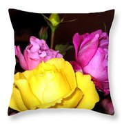 Roses 4 Throw Pillow