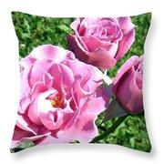 Roses 6 Throw Pillow