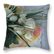 Roses And Chocolate  Throw Pillow