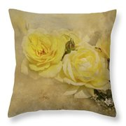 Roses Delight Throw Pillow
