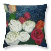 Roses I Throw Pillow
